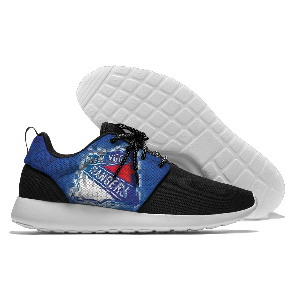 Men NHL New York Rangers Roshe style Lightweight Running shoes 7