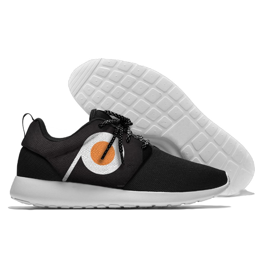Men NHL Philadelphia Flyers Roshe style Lightweight Running shoes 1