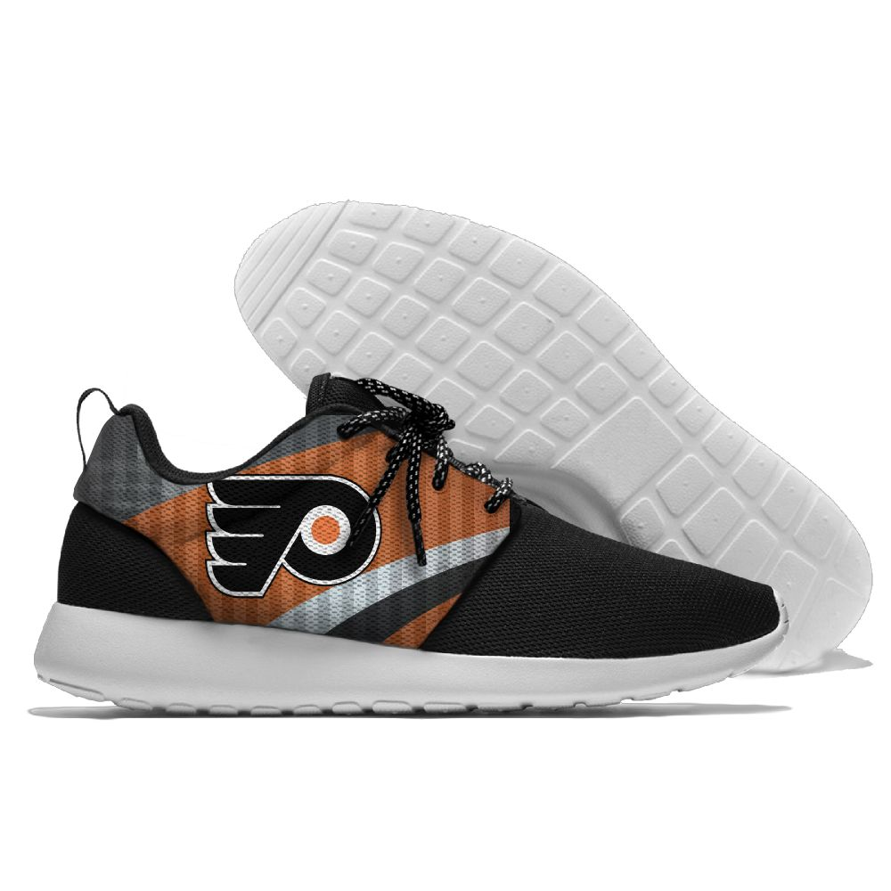 Men NHL Philadelphia Flyers Roshe style Lightweight Running shoes 10