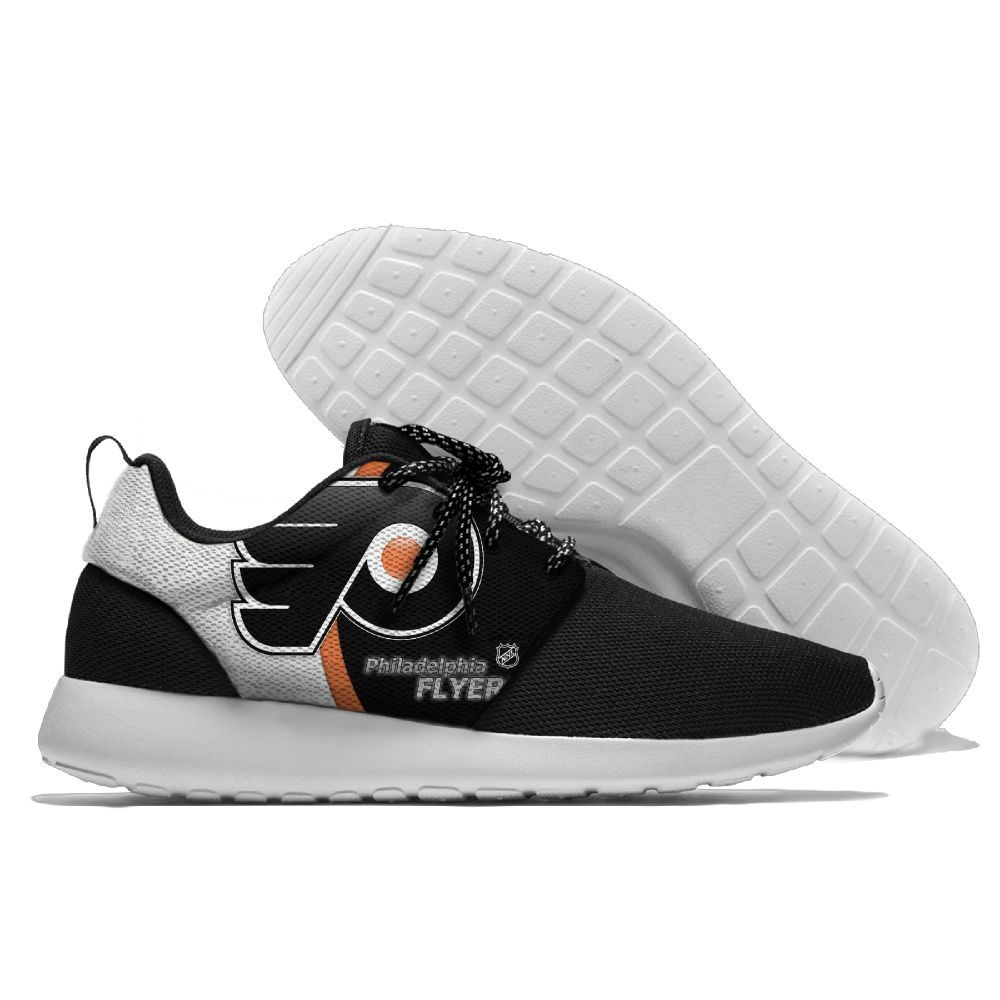 Men NHL Philadelphia Flyers Roshe style Lightweight Running shoes 12