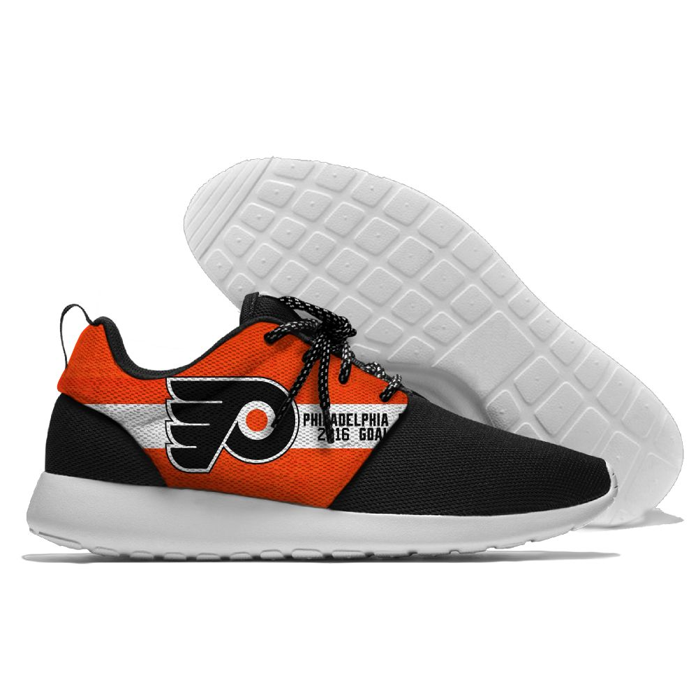 Men NHL Philadelphia Flyers Roshe style Lightweight Running shoes 13