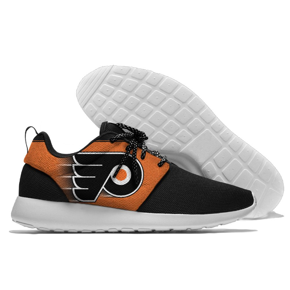 Men NHL Philadelphia Flyers Roshe style Lightweight Running shoes 18