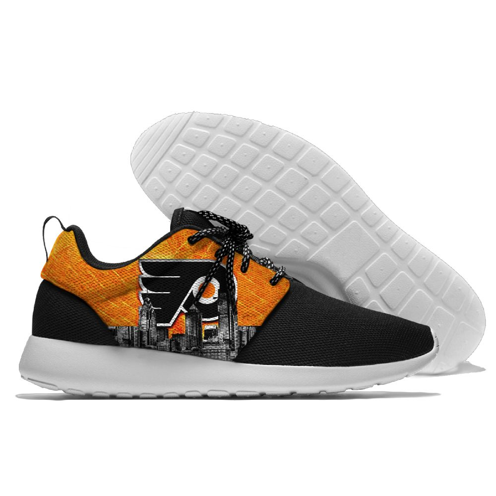 Men NHL Philadelphia Flyers Roshe style Lightweight Running shoes 2