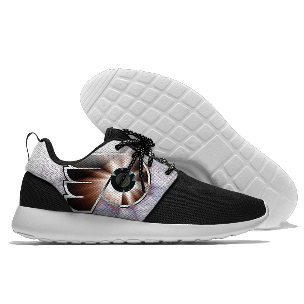 Men NHL Philadelphia Flyers Roshe style Lightweight Running shoes 21