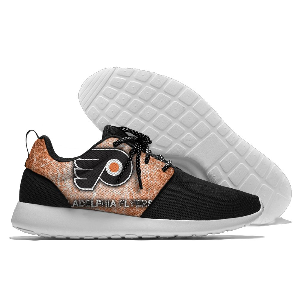 Men NHL Philadelphia Flyers Roshe style Lightweight Running shoes 3