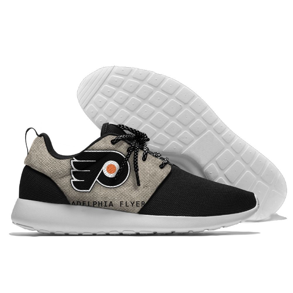 Men NHL Philadelphia Flyers Roshe style Lightweight Running shoes 7