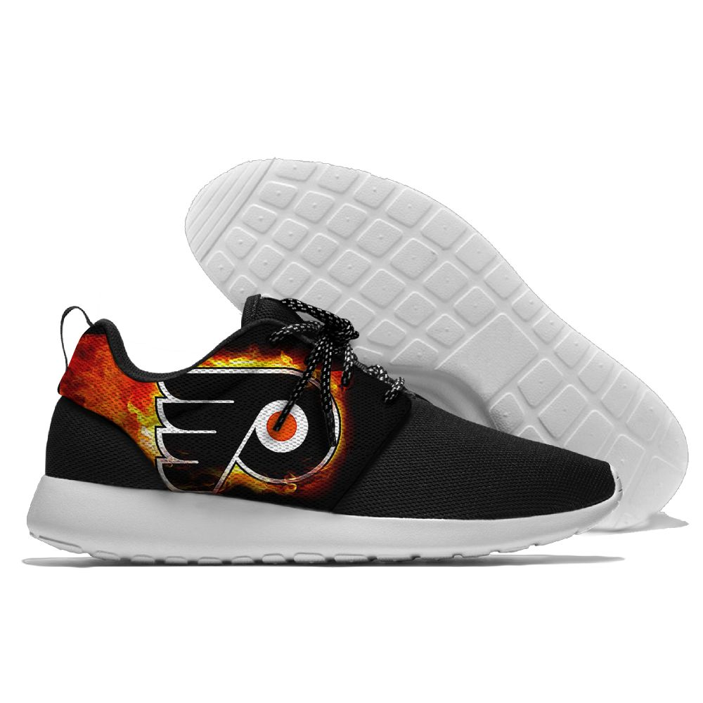 Men NHL Philadelphia Flyers Roshe style Lightweight Running shoes10