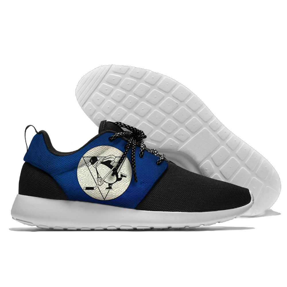 Men NHL Pittsburgh Penguins Roshe style Lightweight Running shoes 6