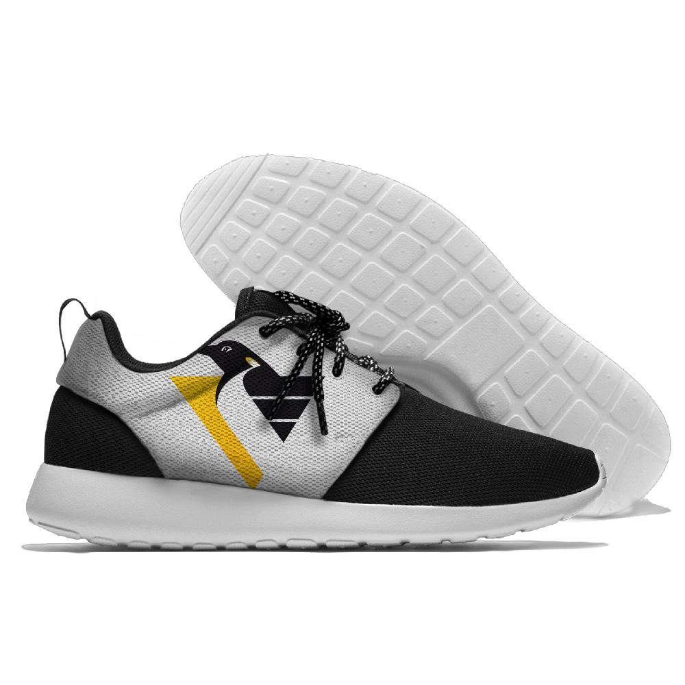 Men NHL Pittsburgh Penguins Roshe style Lightweight Running shoes 7