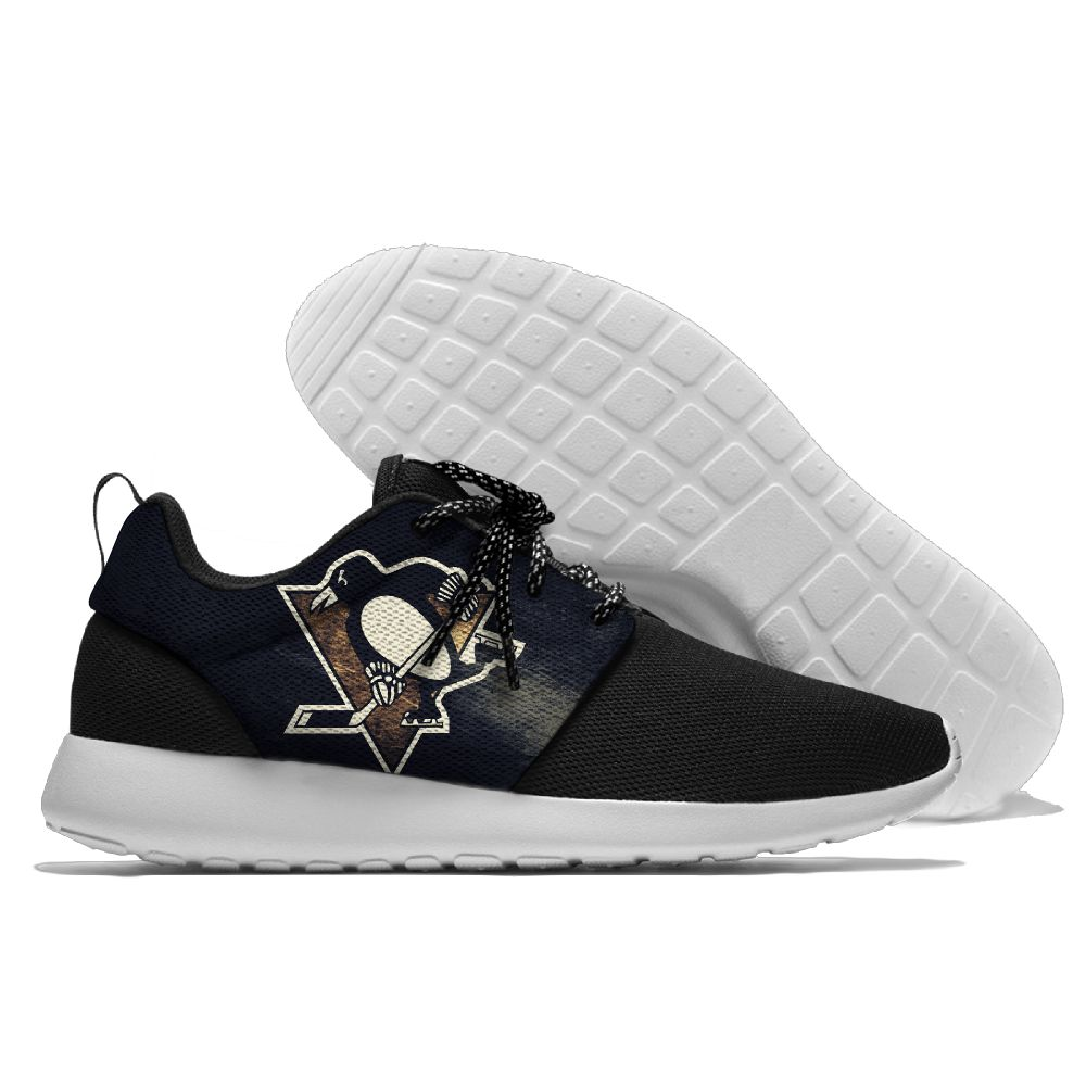 Men NHL Pittsburgh Penguins Roshe style Lightweight Running shoes 8