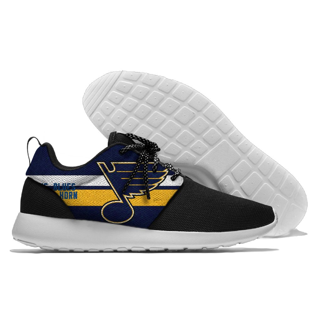 Men NHL St. Louis Blues Roshe style Lightweight Running shoes 18