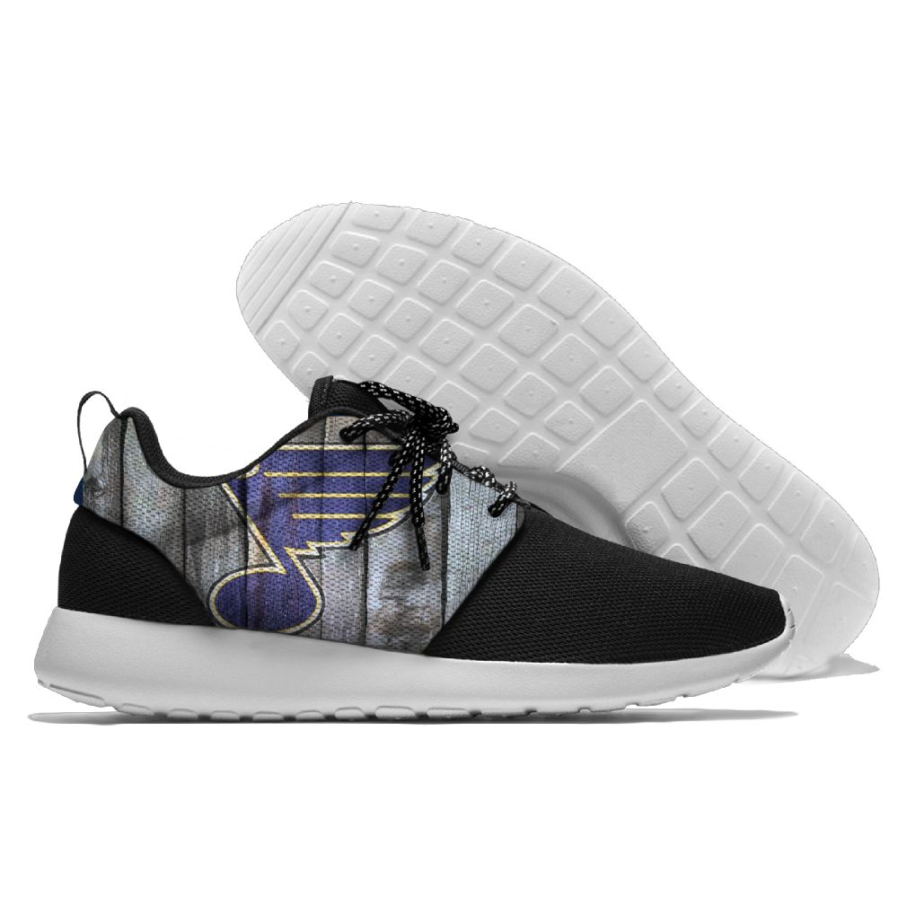 Men NHL St. Louis Blues Roshe style Lightweight Running shoes 23