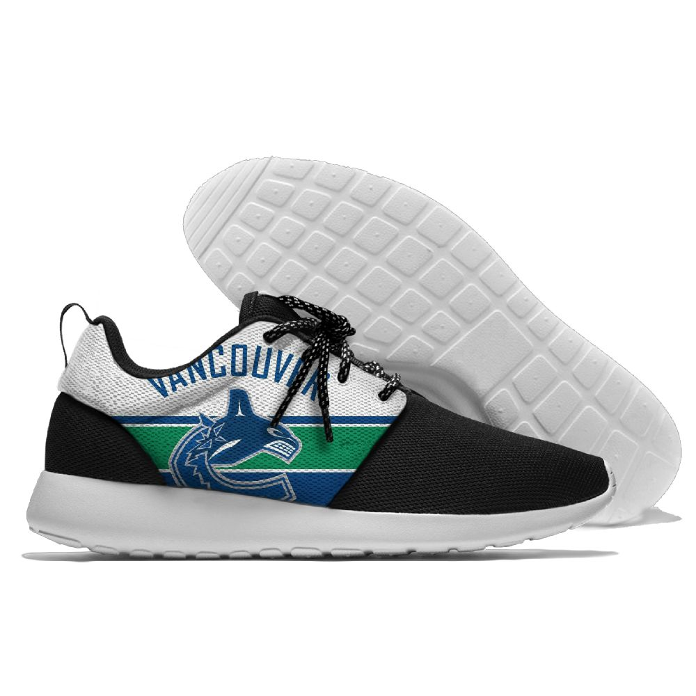 Men NHL Vancouver Canucks Roshe style Lightweight Running shoes 14