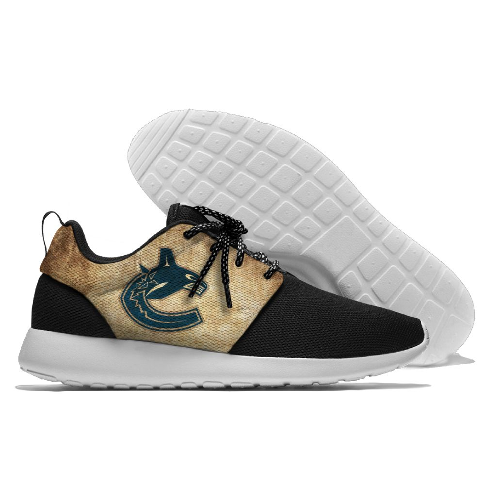 Men NHL Vancouver Canucks Roshe style Lightweight Running shoes 19