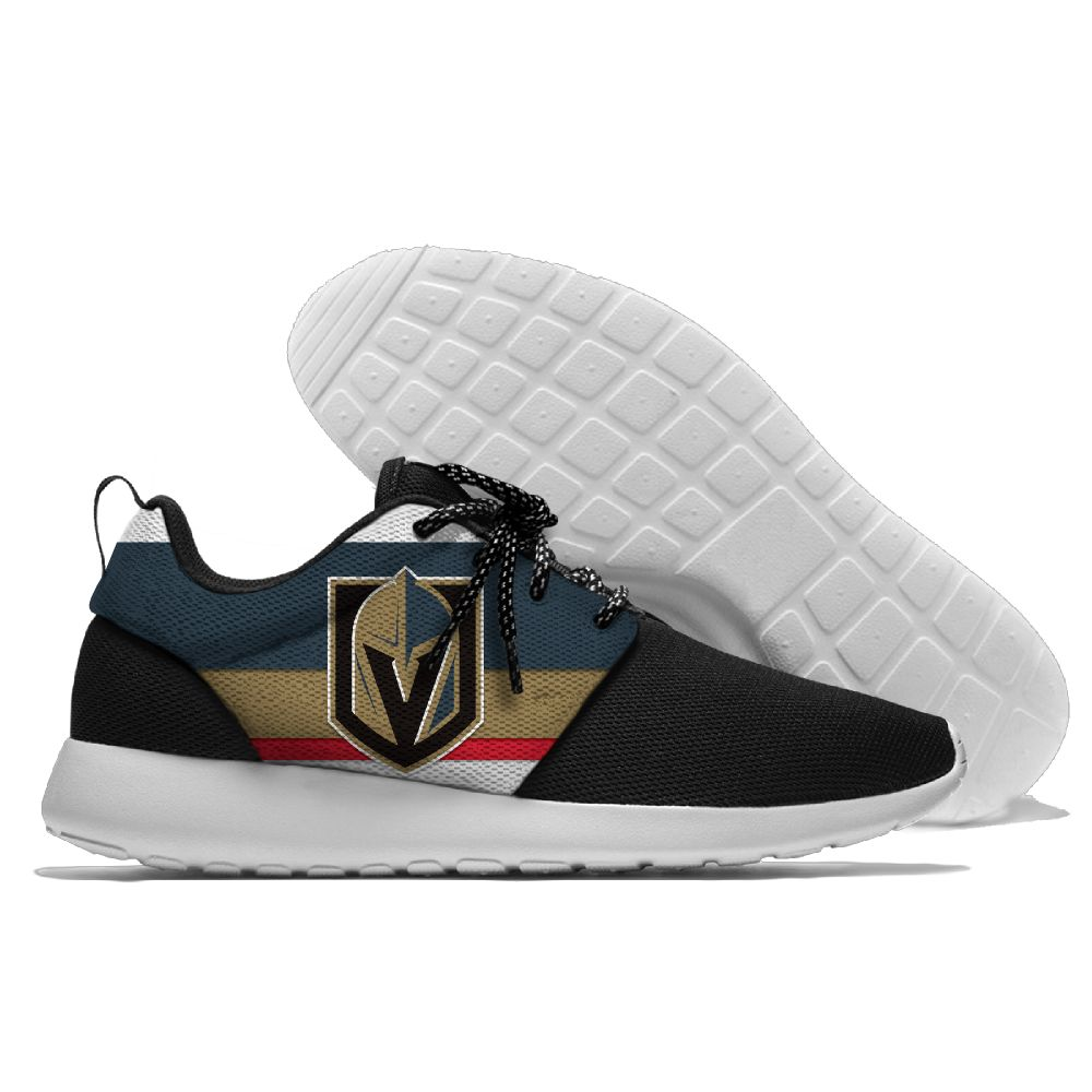 Men NHL Vegas Golden Knights Roshe style Lightweight Running shoes 2