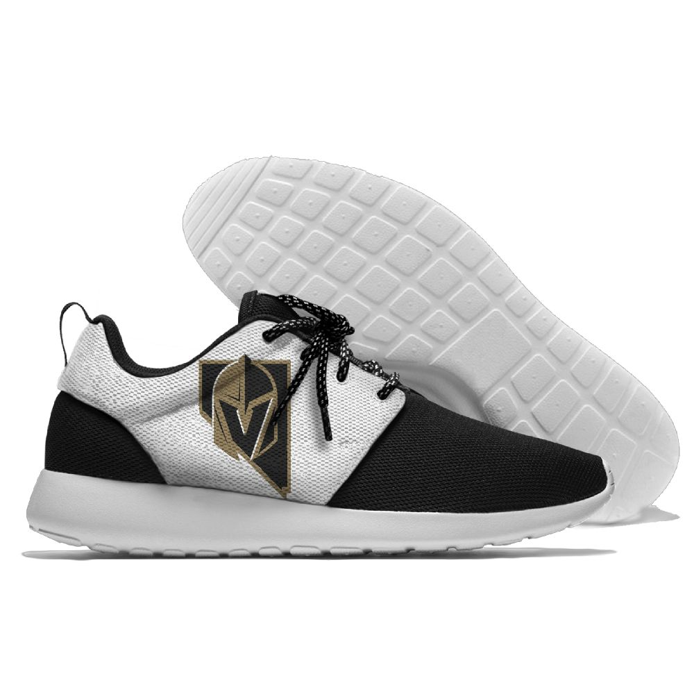 Men NHL Vegas Golden Knights Roshe style Lightweight Running shoes 3