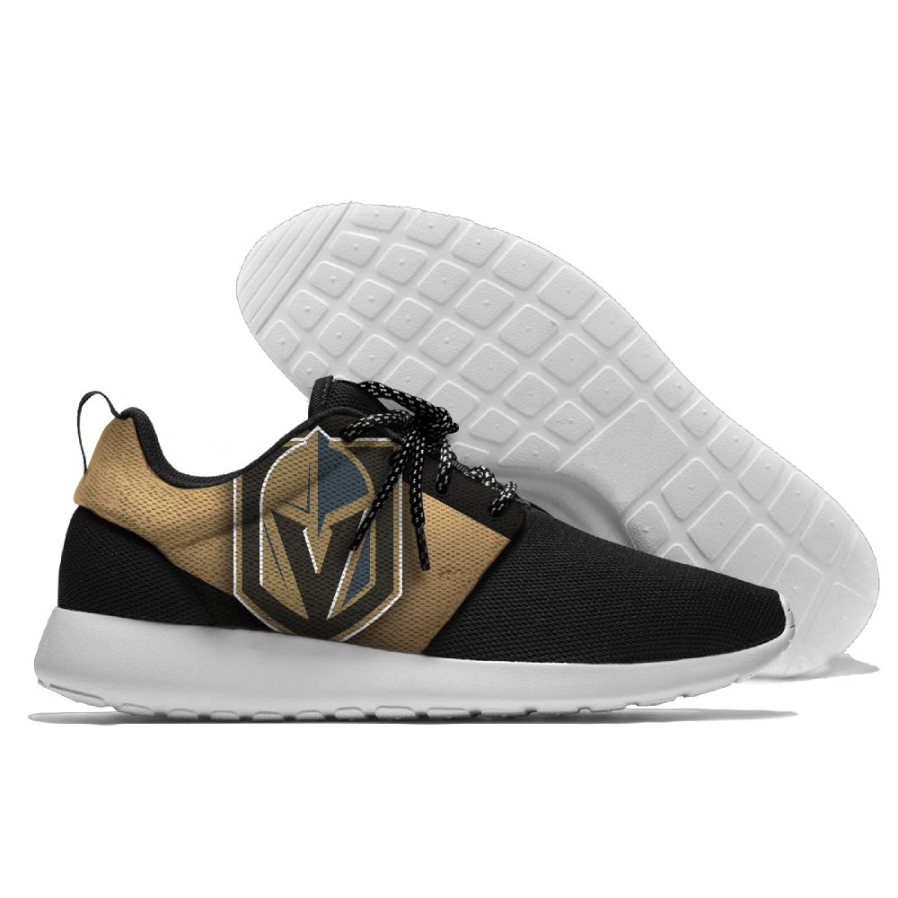 Men NHL Vegas Golden Knights Roshe style Lightweight Running shoes 4
