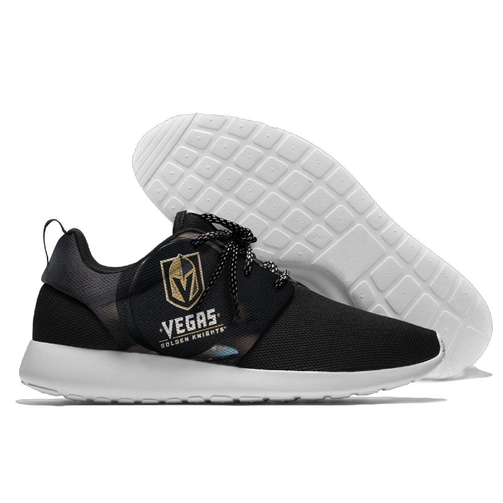 Men NHL Vegas Golden Knights Roshe style Lightweight Running shoes