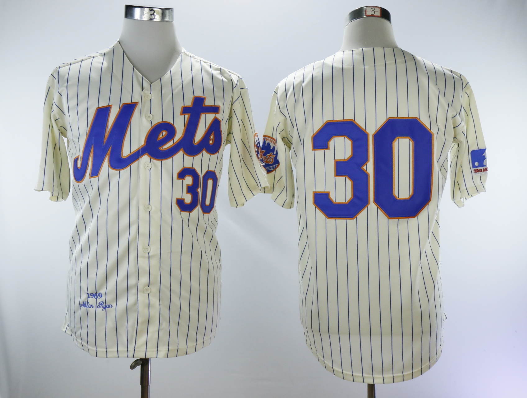 Men New York Mets 30 Conforto Cream Throwback 1969 MLB Jerseys