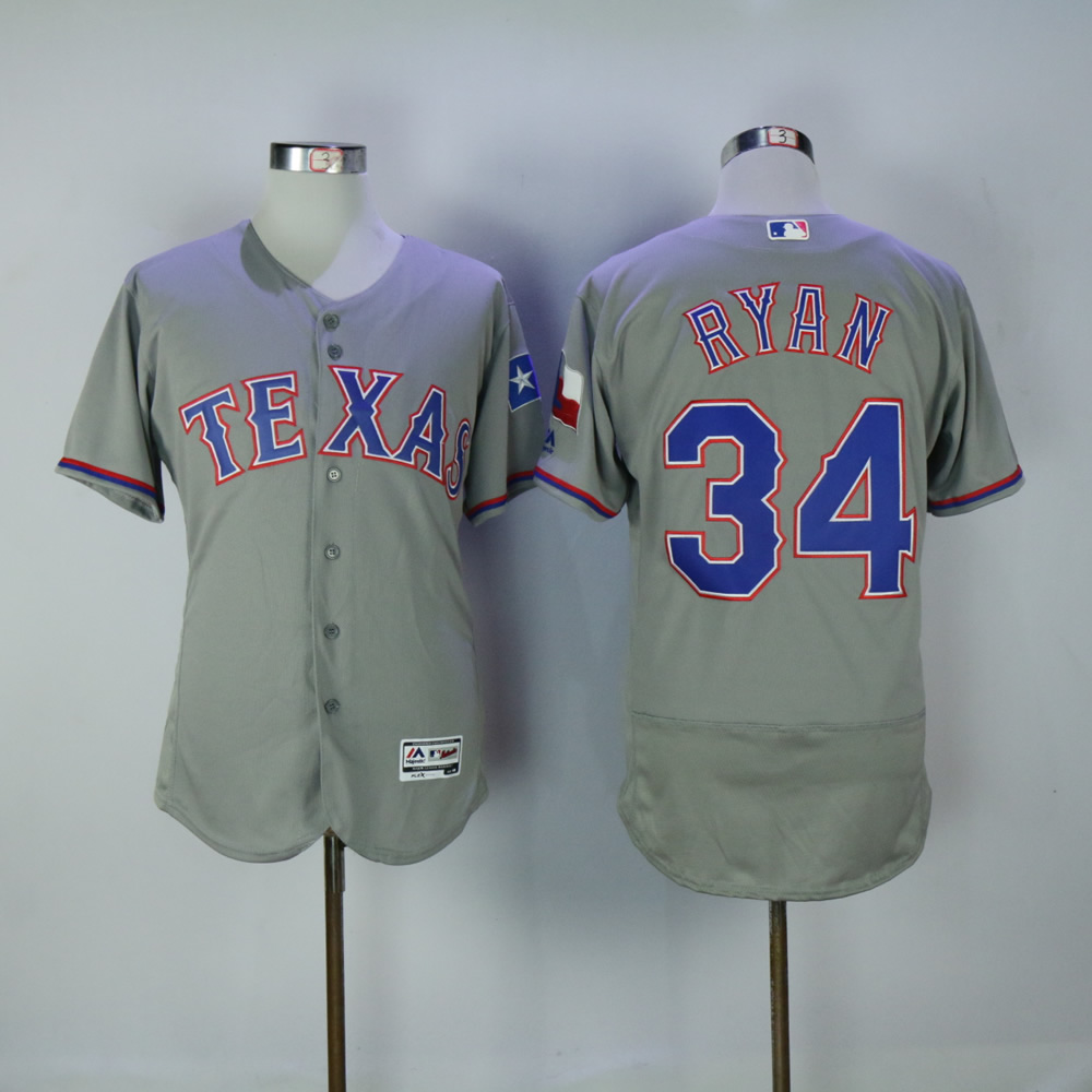 Men Texas Rangers 34 Ryan Grey MLB Jerseys