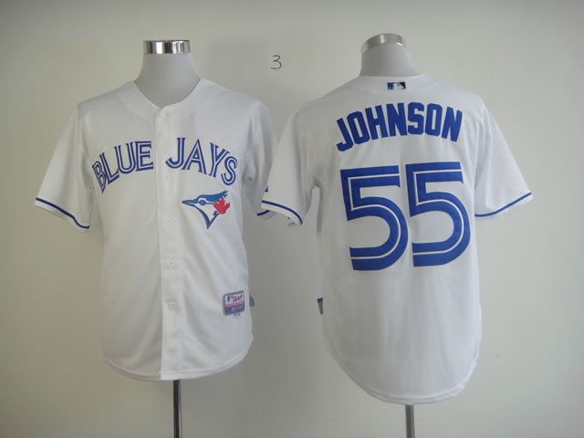 Men Toronto Blue Jays 55 Martin White MLB Jerseys