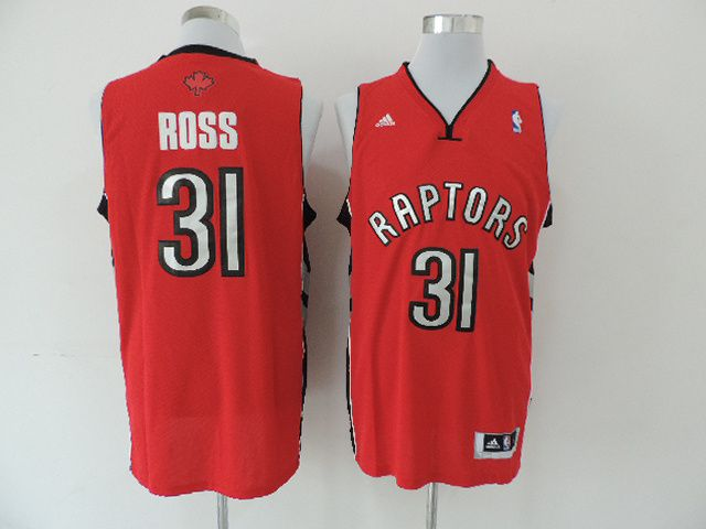 Men Toronto Raptors 31 Ross Red Adidas NBA Jerseys