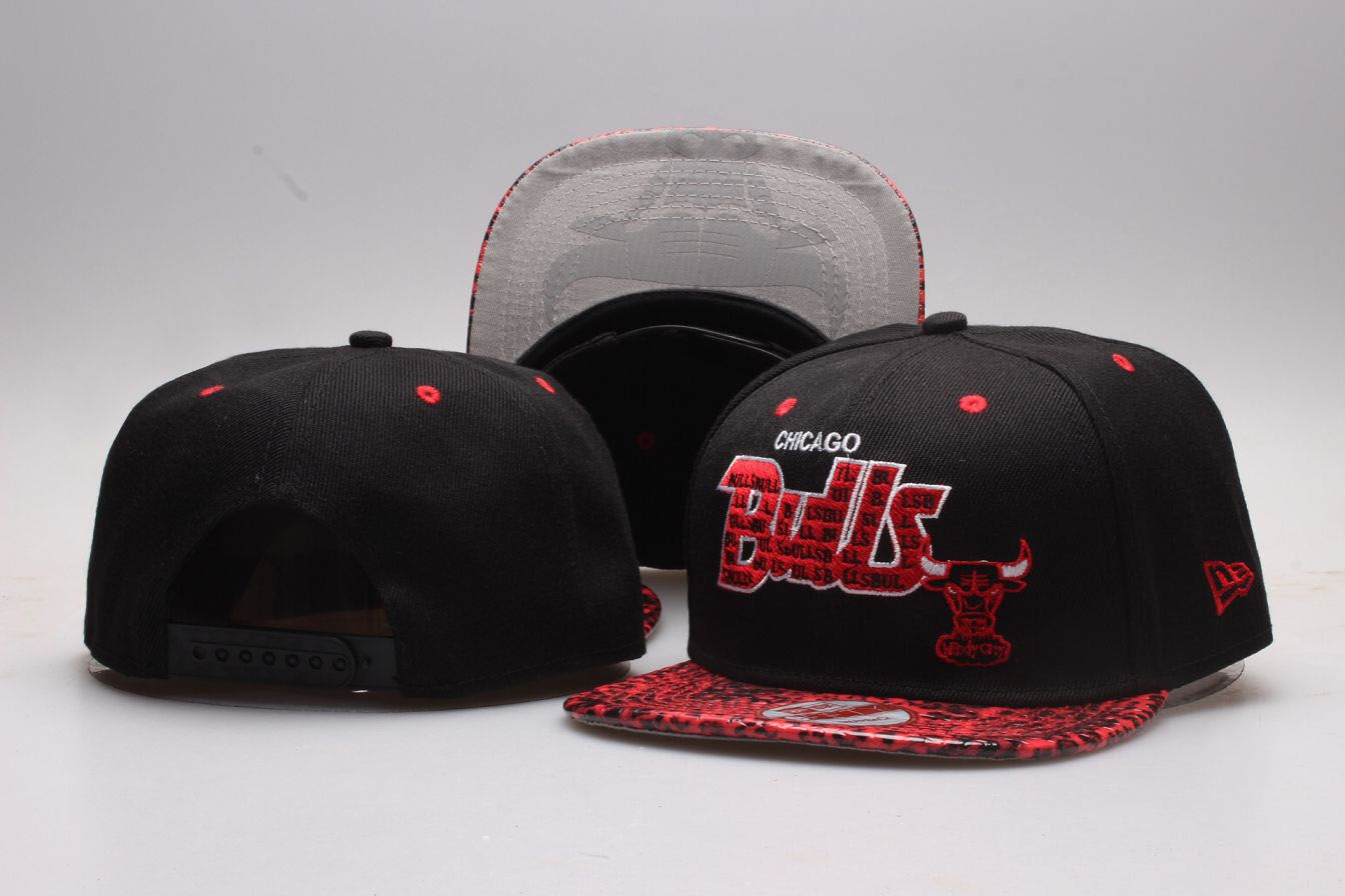 NBA Chicago Bulls Snapback hat 20181125