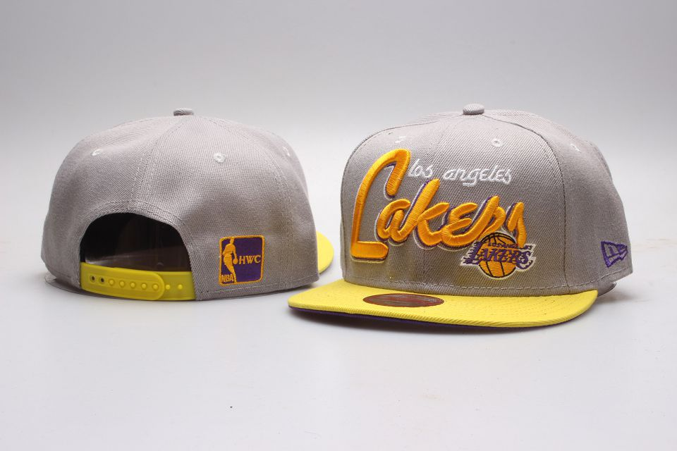 NBA Los Angeles Lakers Snapback hat 201811251