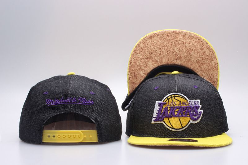NBA Los Angeles Lakers Snapback hat 201811252