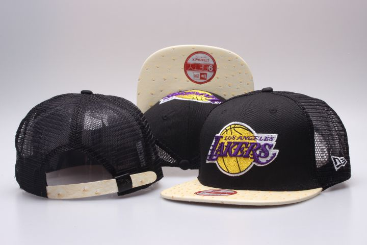 NBA Los Angeles Lakers Snapback hat 201811255