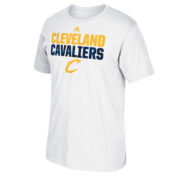 NBA Men Cleveland Cavaliers adidas Immortal Team TShirt White