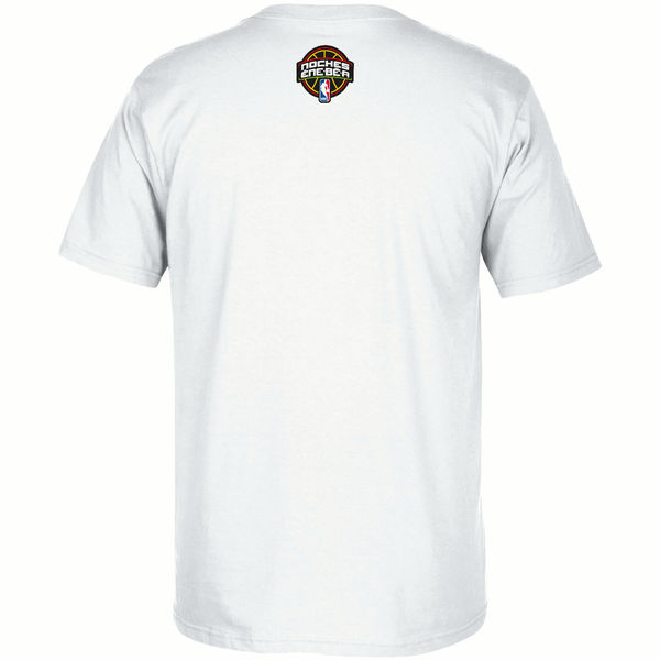 NBA Men Cleveland Cavaliers adidas Noches EneBeA TShirt White