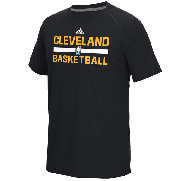 NBA Men Cleveland Cavaliers adidas OnCourt Climalite Ultimate TShirt Black