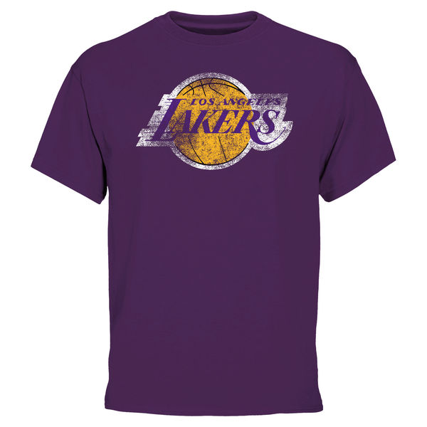 NBA Men Los Angeles Lakers Big Tall Team TShirt Purple
