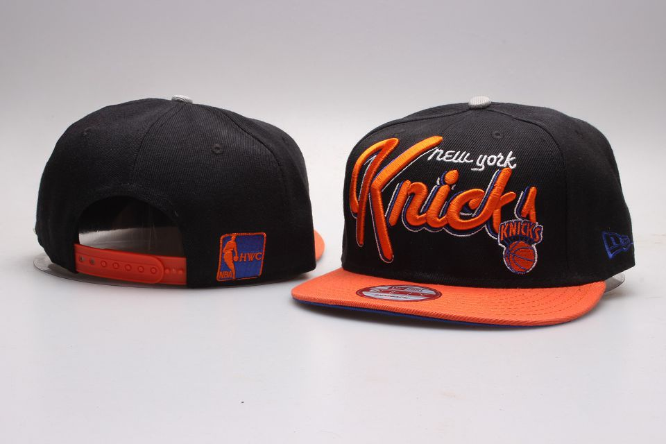 NBA New York Knicks Snapback hat 201811253
