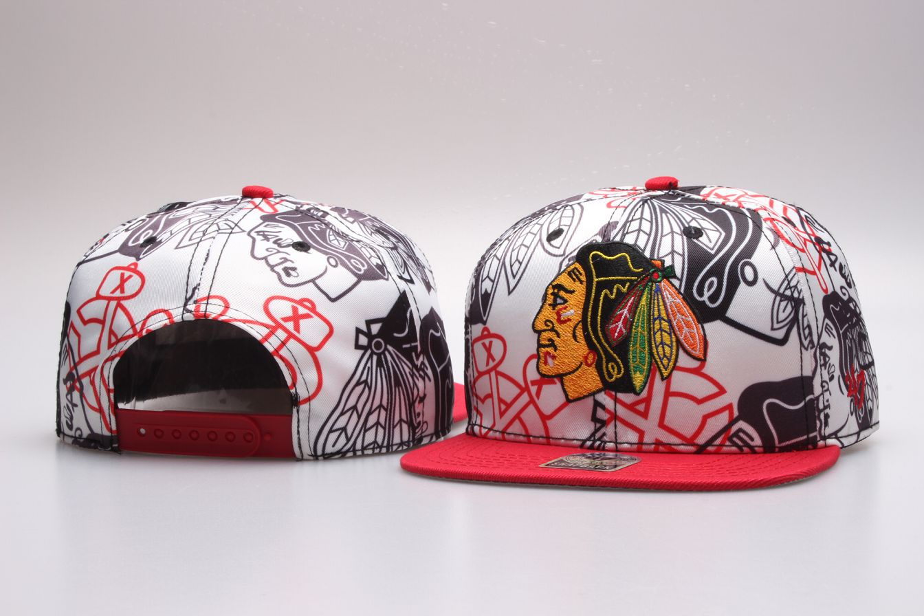 NHL Chicago Blackhawks Snapback hat 20181125