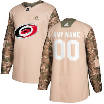 NHL Men adidas Carolina Hurricanes Camo customized jerseys