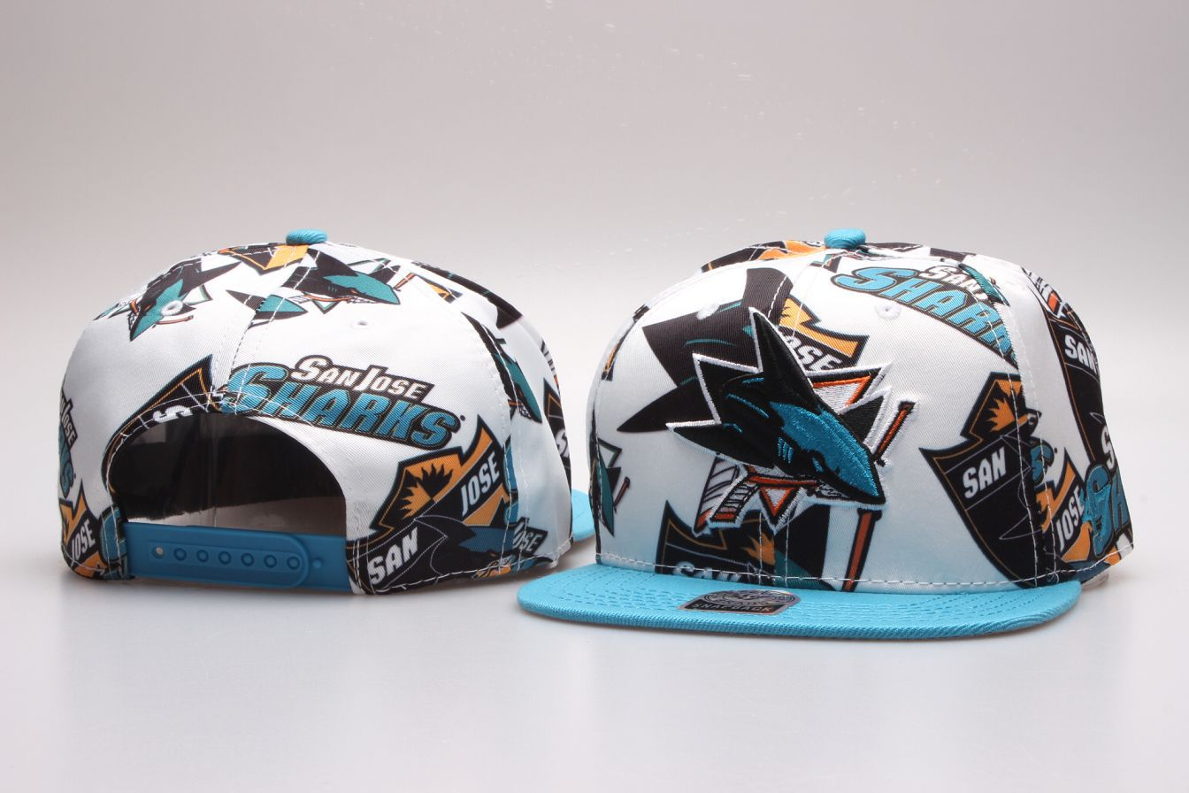 NHL San Jose Sharks Snapback hat 20181125