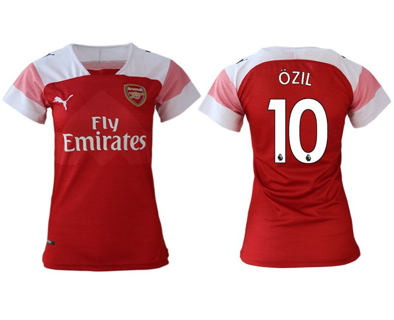 Women 2018-2019 club Arsenal home aaa version 10 red soccer jerseys