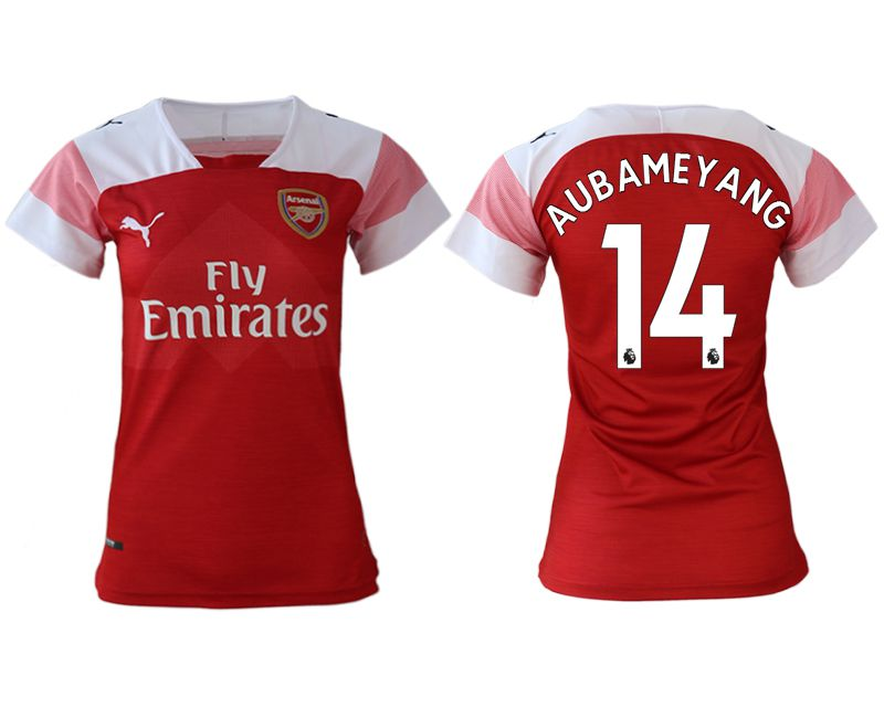 Women 2018-2019 club Arsenal home aaa version 14 red soccer jerseys