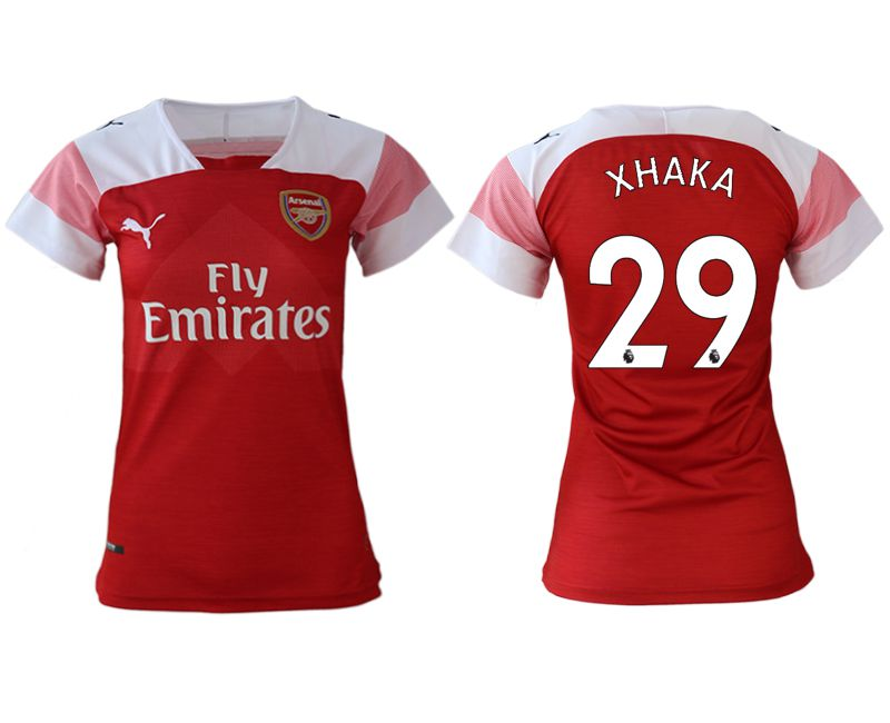 Women 2018-2019 club Arsenal home aaa version 29 red soccer jerseys