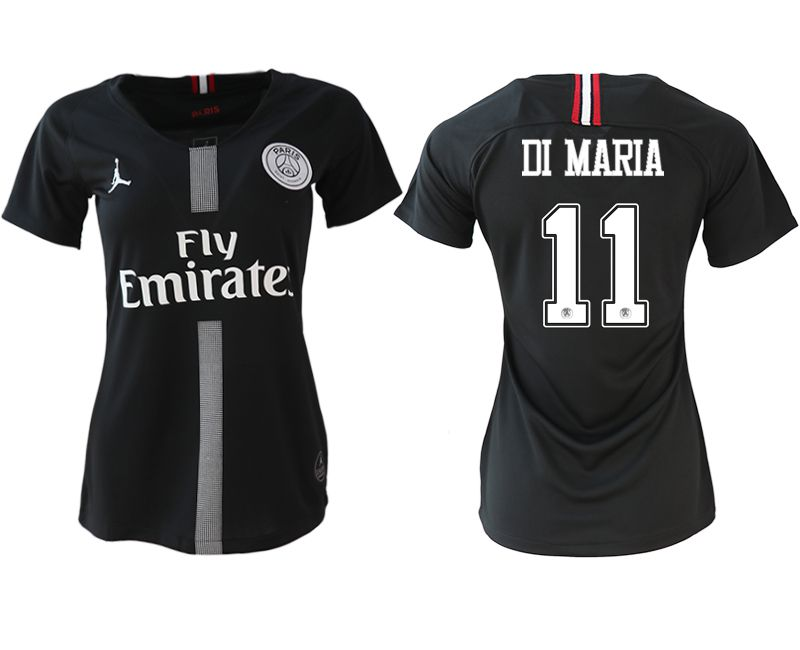 Women 2018-2019 club Paris St German Champions league Jordan style aaa version 11 soccer jerseys