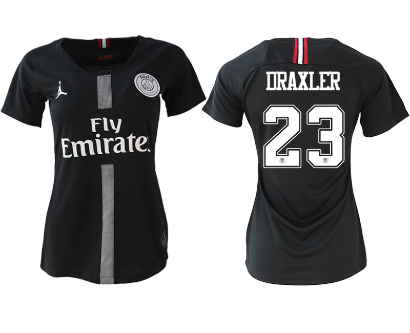 Women 2018-2019 club Paris St German Champions league Jordan style aaa version 23 soccer jerseys