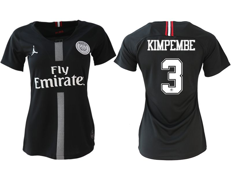 Women 2018-2019 club Paris St German Champions league Jordan style aaa version 3 soccer jerseys