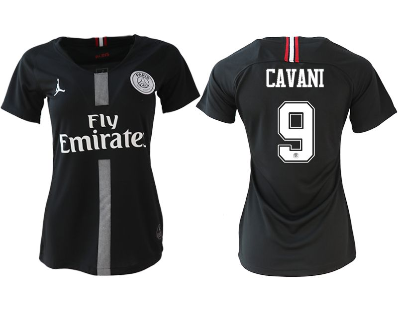 Women 2018-2019 club Paris St German Champions league Jordan style aaa version 9 soccer jerseys