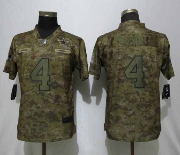 ee8e76cb5d1fa ... promo code for women dallas cowboys 4 prescott nike camo salute to service  limited nfl jerseys