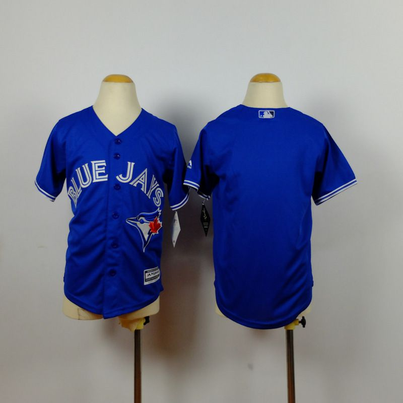 Youth Toronto Blue Jays Blank Blue MLB Jerseys