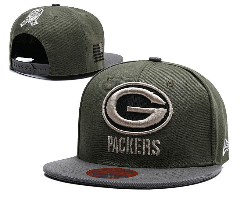 2018 NFL Green Bay Packers Snapback hat LTMY1210