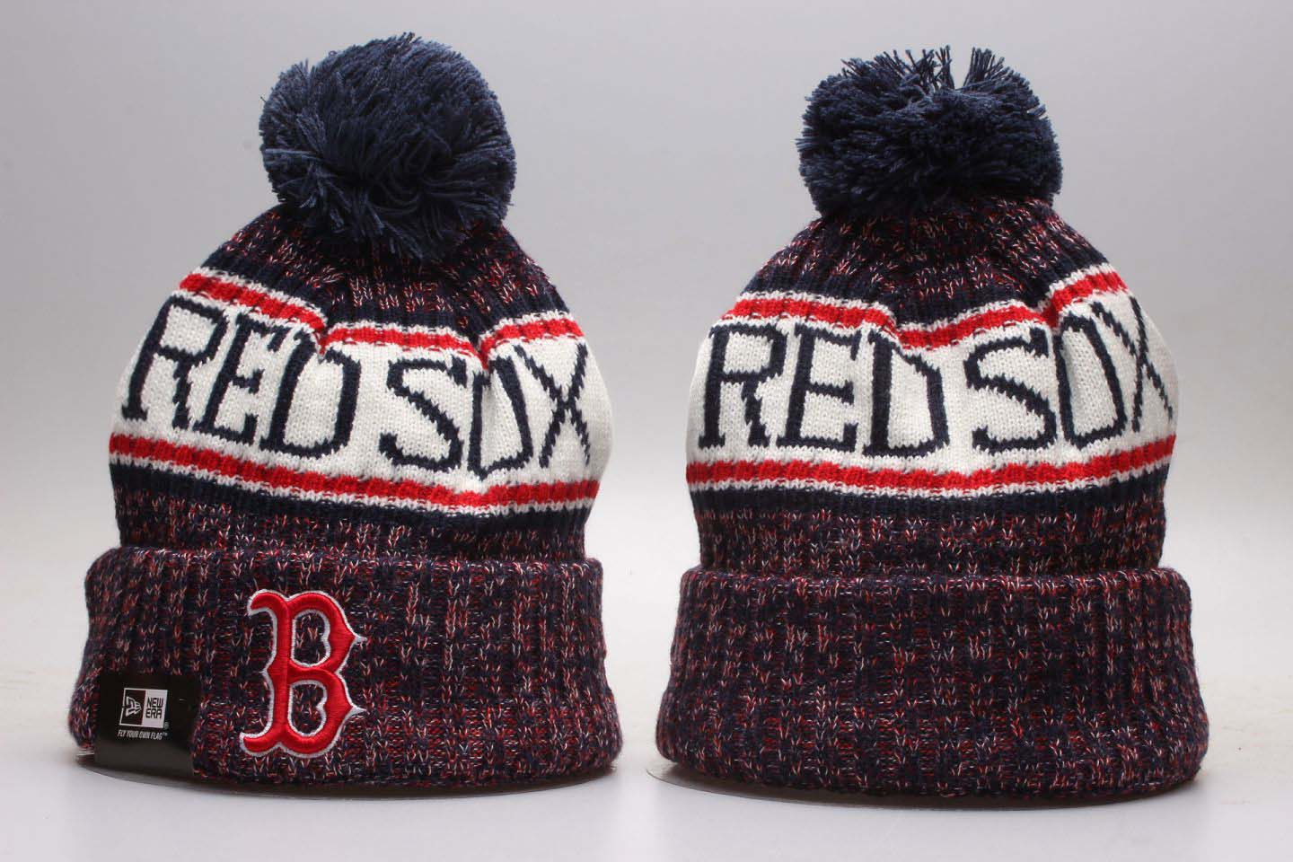 MLB Boston Red Sox3 Beanie hot hat