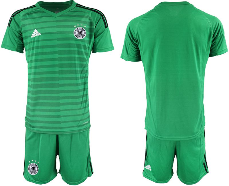 Men 2018 World Cup Germany green goalkeeper Soccer Jerseys